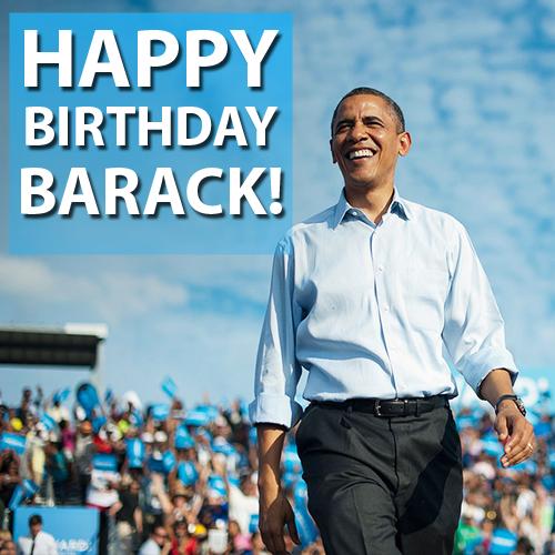Happy 54th Birthday, President Barack Obama!