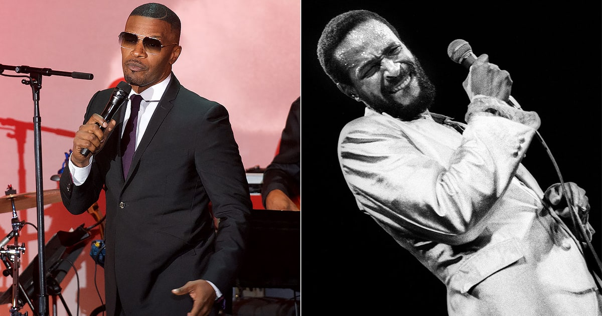 Jamie Foxx to Produce Limited TV Series on Marvin Gaye ...