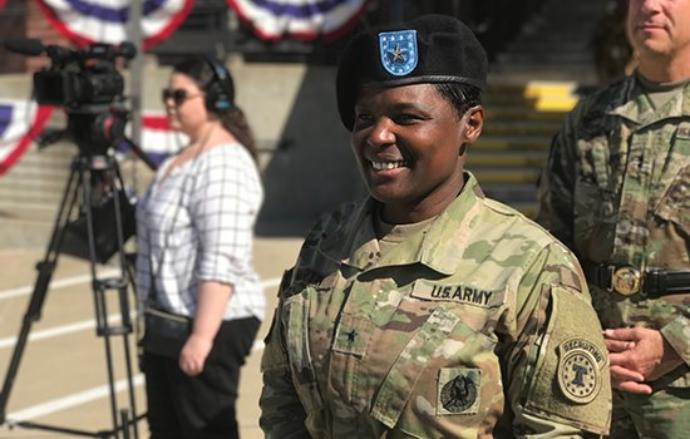 Brigadier General Donna Martin Becomes 1st Black Female Commandant Of U S Army Military Police